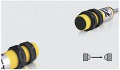 Through-beam photoelectric sensor