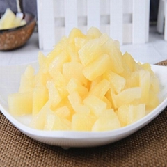 pineapple in syrup  with aseptic packaging 20 Kg/China