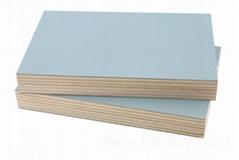 1220*2440mm size melamine plywood  board indoor usage