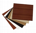 Chinese factory board timber melamine plywood