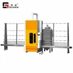 Hot sales glass sandblaster TWPS16 sandblasting machine for float glass with CE