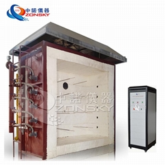 ASTM E136 Laboratory Fire Resistance Vertical Test Furnace Of Building Materials