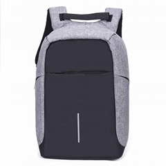 Waterproof Reflective Smart bagpack School Anti-theft Back pack USB charging 15.