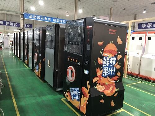 fresh orange juice vending machine 3