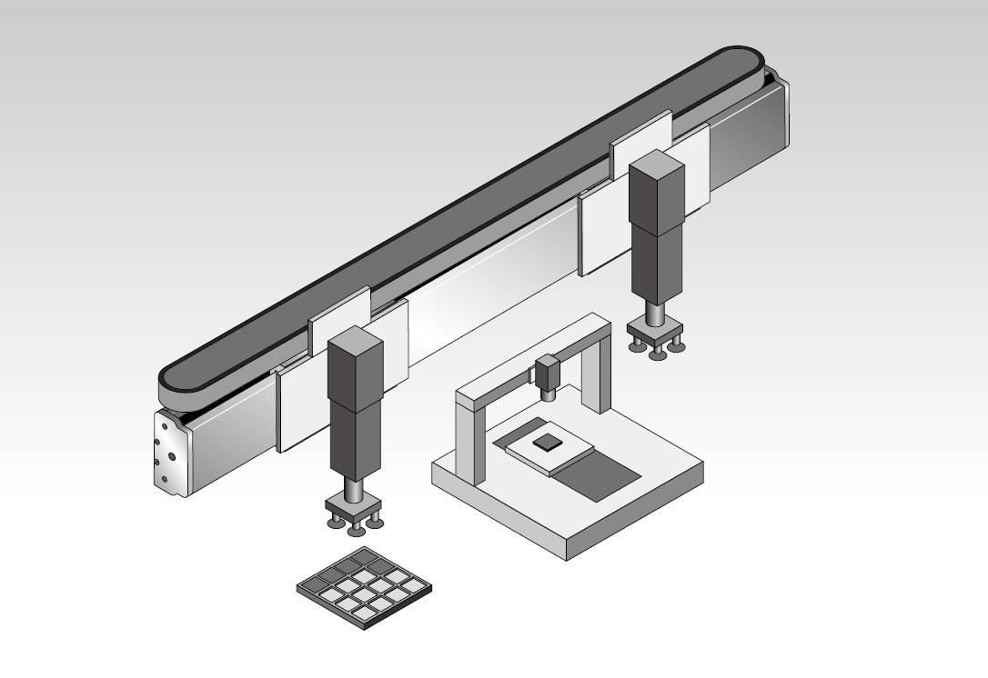 高精度磁轴式直线电机模组 4