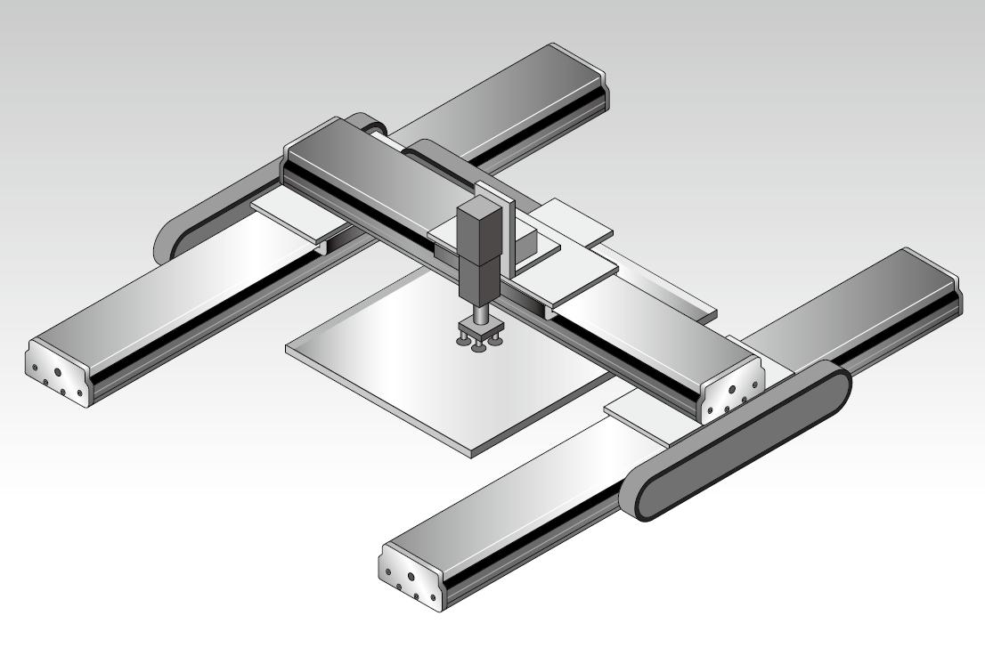高精度磁軸式直線電機模組 5