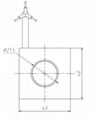 微型直線電機 38mm短線圈短滑塊直線電機 2