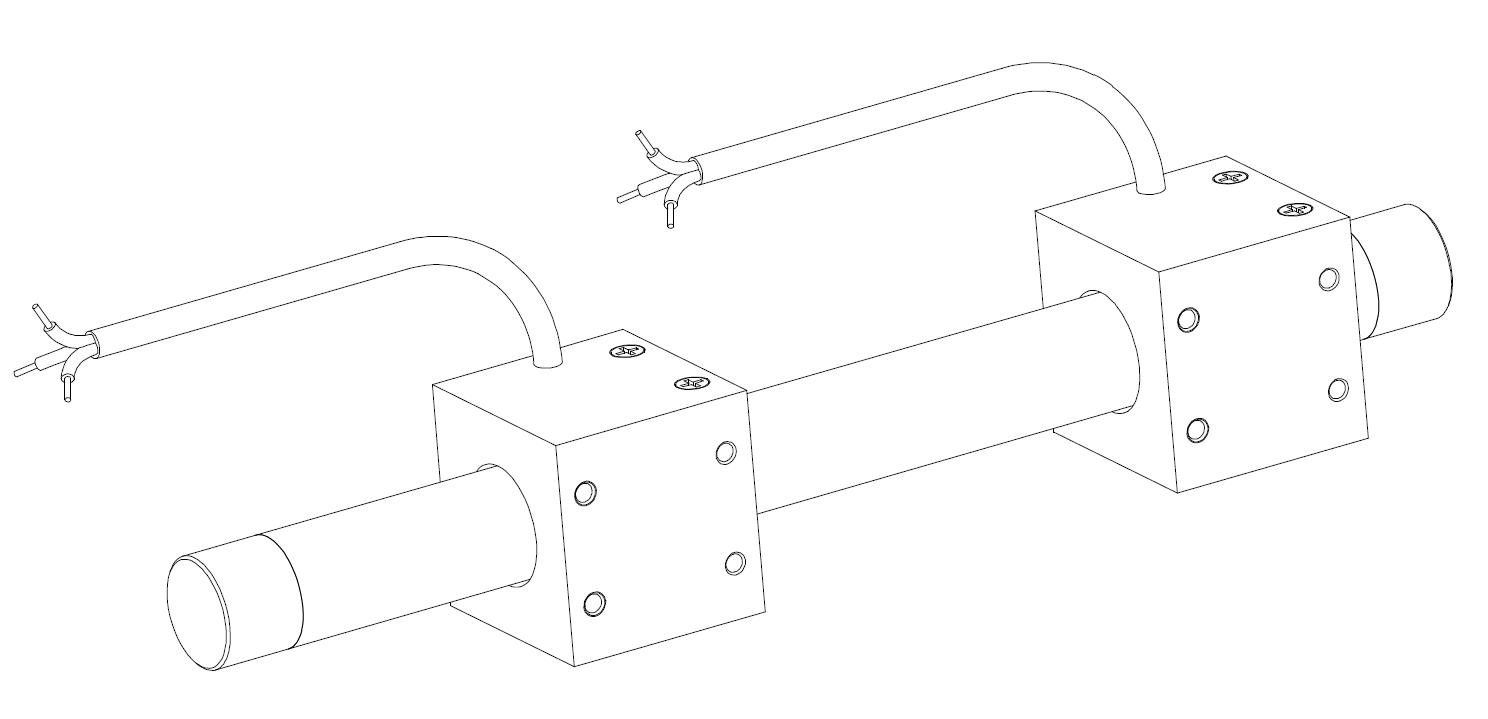 微型直線電機 38mm短線圈短滑塊直線電機 3