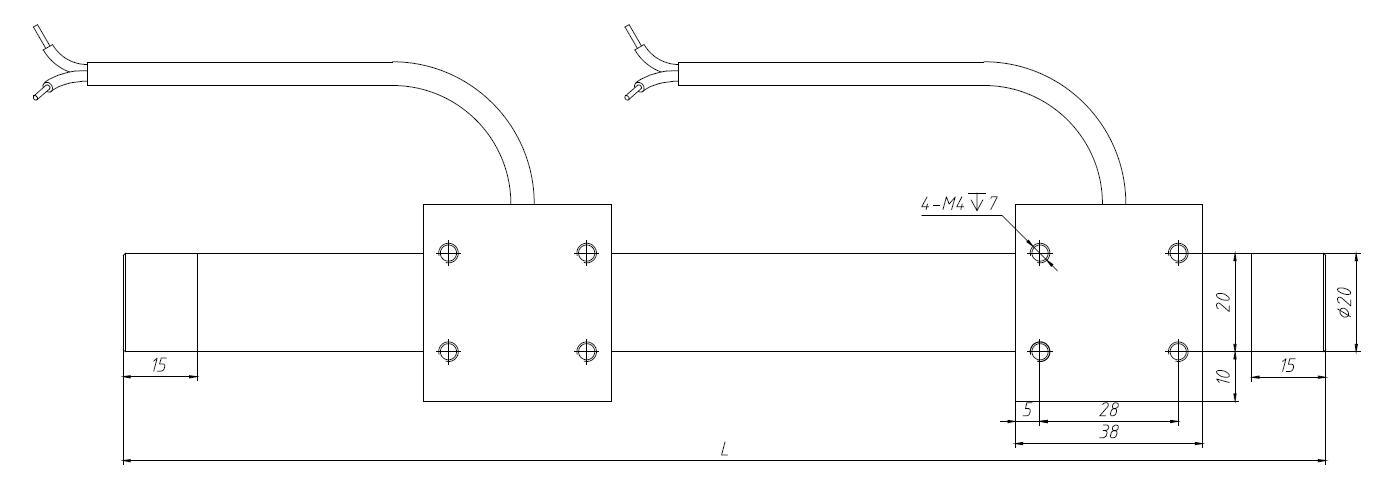 微型直線電機 38mm短線圈短滑塊直線電機 1