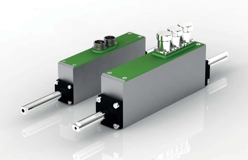 光電數粒機用&驅控一體微型直線電機NLi080Q-45 1