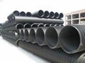 HDPE塑鋼纏繞排水管供貨