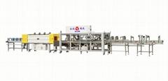 永創通達一片膜高速雙通道熱收縮包裝機飲料行業專用