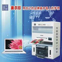 可以印刷小批量不干胶的小型名片印刷机
