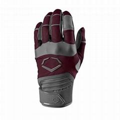 EvoShield Evo Aggressor Men Large Maroon Baseball Batting Gloves WTV4300