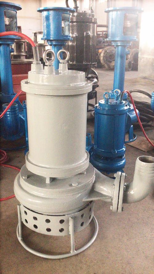 HSQX型不鏽鋼耐腐蝕潛水泥砂泵 2
