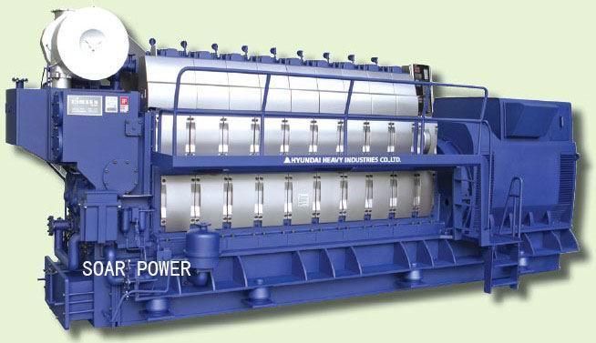 现代柴油发电机组 1