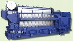 現代柴油發電機組
