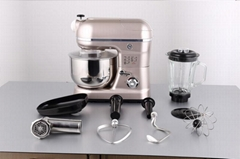 ABS Plastic House Dough Stand Mixer with Meat Grinder