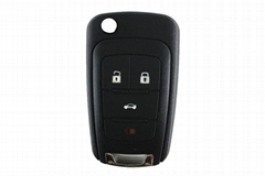 4 button Buick folding keys for Buick New Regal