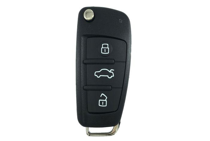 3 button Audi remote control flip key for A4 231G 1