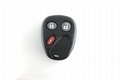 3 buttons Chevrolet GMC remote control