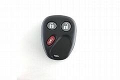 3 buttons Chevrolet GMC remote control 315Mhz KOBUBIBT