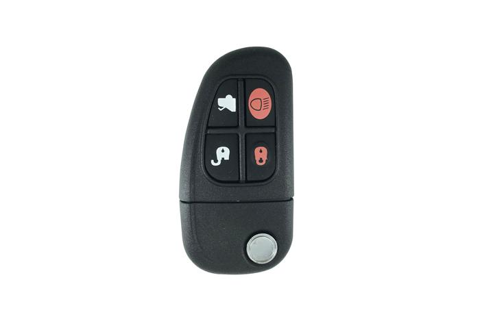 Jaguar folded key 4 buttons 4D60 1