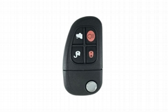 Jaguar folded key 4 buttons 4D60