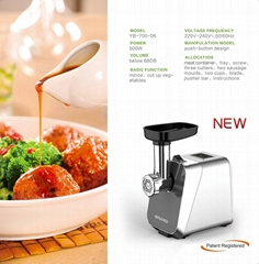 800W eco-friendly and sturdy multifunctional electric meat grinder