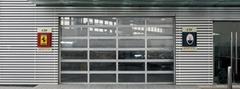 Aluminum Glass Garage Door
