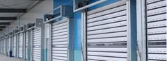 aluminum alloy High speed hard door