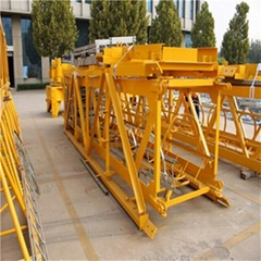 RCT5516-6 Embedded outrigger hammerhead tower crane for construction building