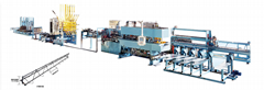 XHJ-270全自动高速钢筋桁架焊机生产线