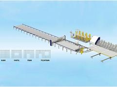 GWC-D-400柔性鋼觔網片焊接生產線