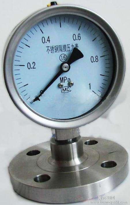 隔膜壓力表 1