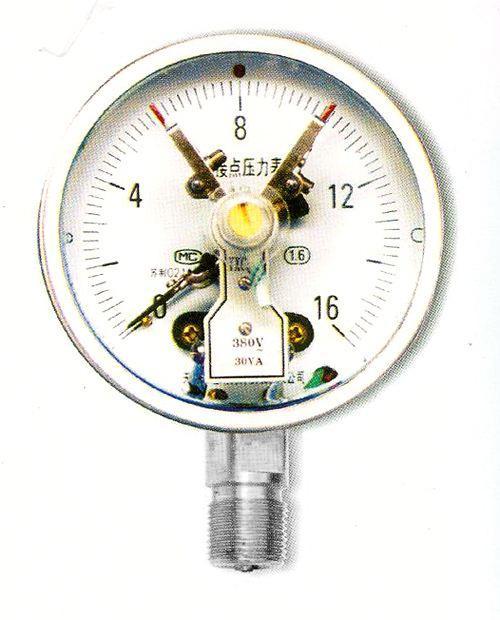不鏽鋼紐扣壓力表 1