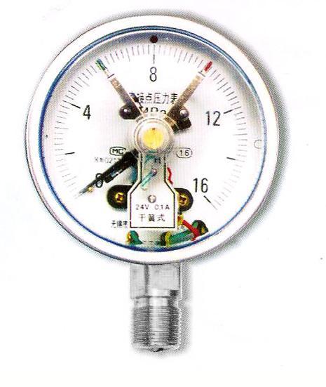 干簧式電接點壓力表 1