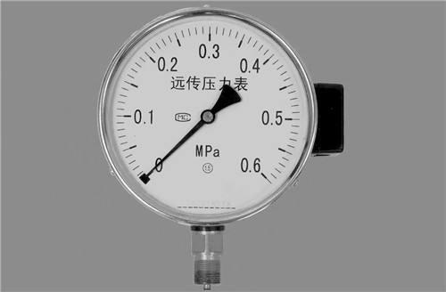 電阻式遠傳壓力表 1