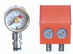 礦用耐震壓力表雙針壓力表