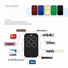 YET2130AIO  多频拷贝遥控器