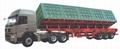 Side dump truck trailer