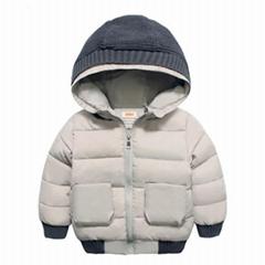 Custom Logo design breathable kids coat for winter 2019