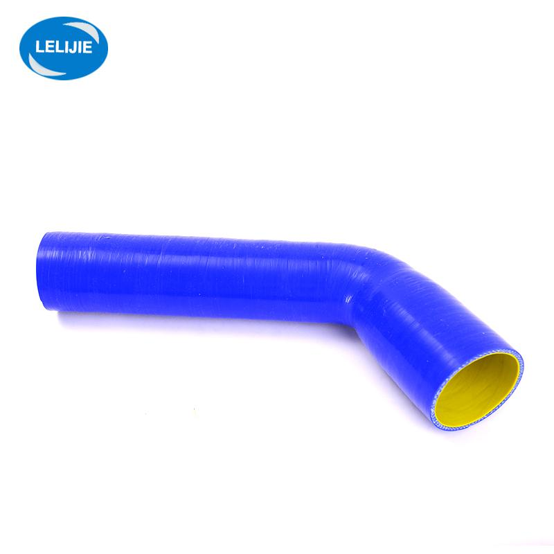 heat resistant 45 degree elbow silicone rubber hose for turbocharger 3