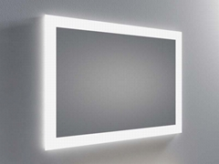 Modern Wall LED Lighted Mirror with Anti fog Manufacturer Supplier China