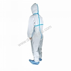 Isolation Gown Protective Coverall Non-woven Isolation Gown  Safety Disposable