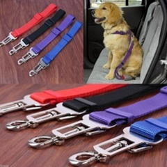 Cat Dog Pet Safety Car Vehicle Strap Seatbelt Seat Belt Adjustable Harness Lead