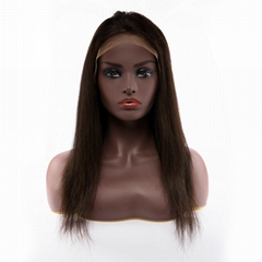 青岛佳兰美发制品真人发头套前蕾丝假发Body Wave10-24寸自然色定制假发