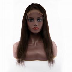 青島佳蘭美髮制品真人發頭套前蕾絲假髮Body Wave10-24寸自然色定製假髮