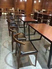 全实木牛角椅