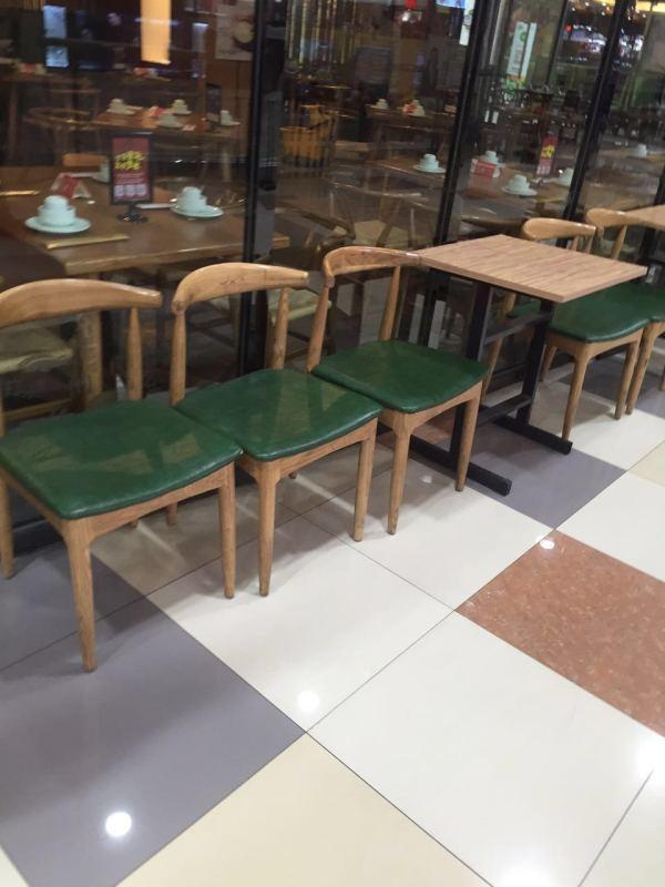 全實木牛角椅 5